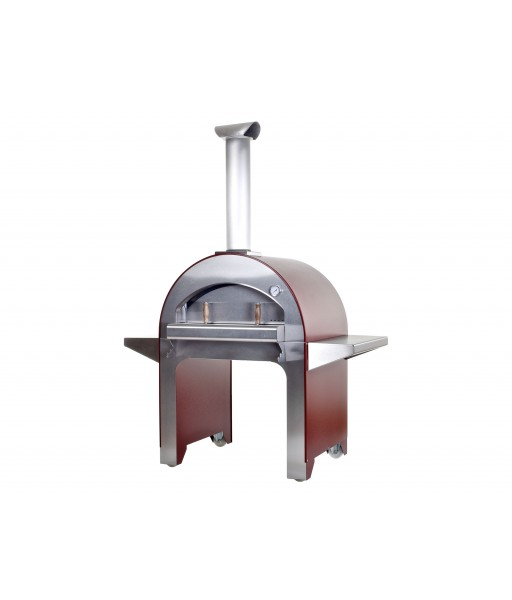 4 Pizze Wood Fired Oven - Antique Red