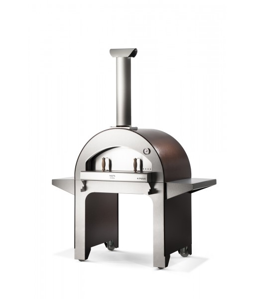 4 Pizze Wood Fired Oven - Copper