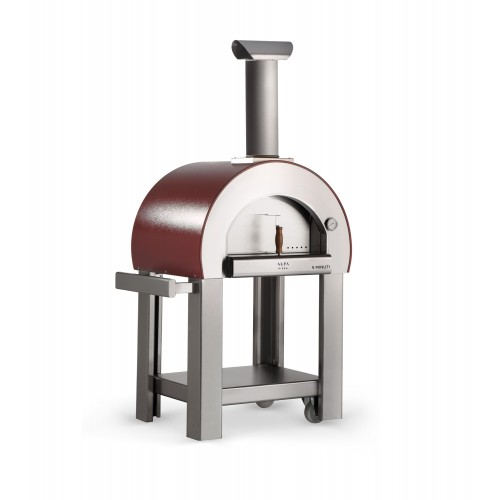 5 Minuti Wood Fired Oven - Antique Red