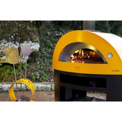 Allegro Wood Fired Oven - Antique Red