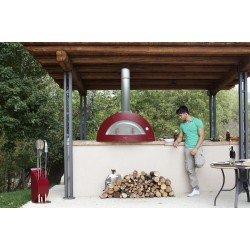 Allegro Wood Fired Oven - Antique Red - Top Only