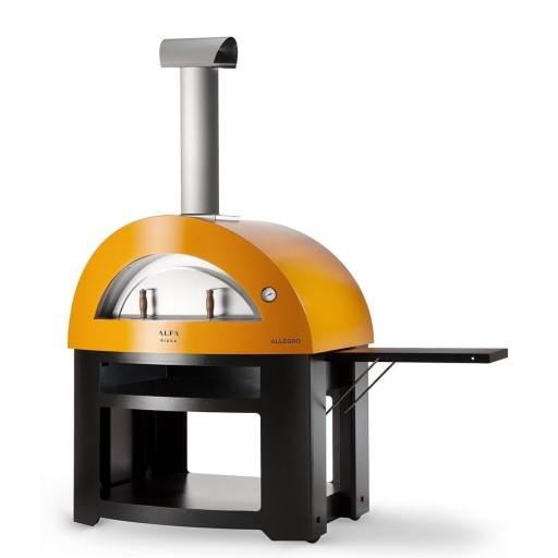 Allegro Wood Fired Oven - Yellow
