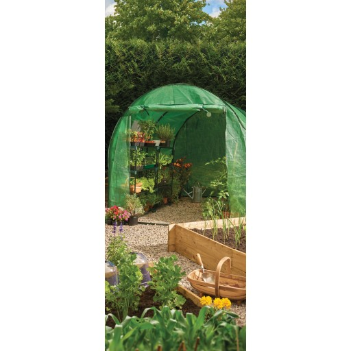 Polytunnel with Heavy Duty Cover
