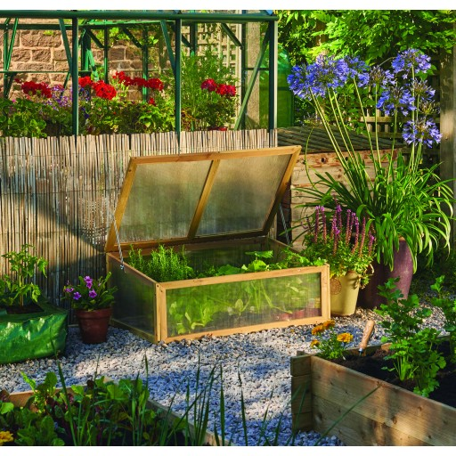 Wooden Cold Frame - Natural Finish