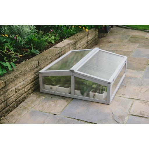 Wooden Cold Frame - Dove Grey