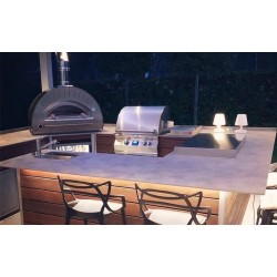 Dolce Vita Gas Fired Oven - Diamond Grey