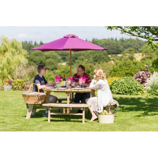Heavy Duty Round Picnic Table